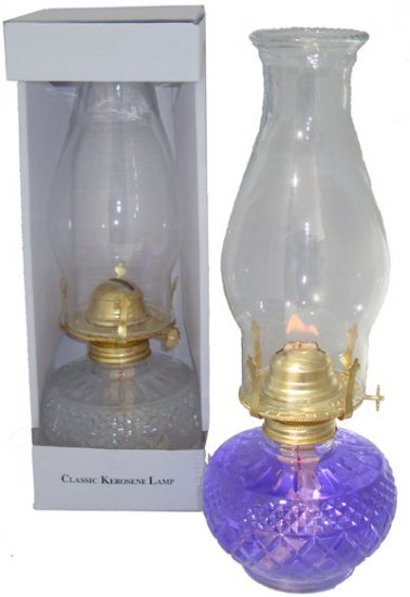 Oil Lamp Large - Click Image to Close