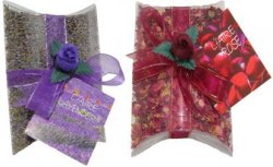 Gift Sachet - Lavender/Rose Petal in Display